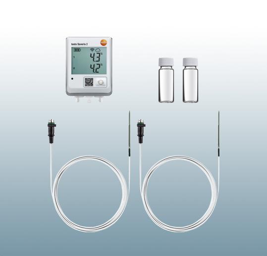 testo saveris 2 无线数据记录仪-冰箱测温套装